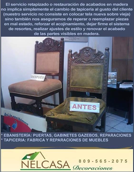 Juego De Muebles, Fabrica Y Reparación, Tapicería, Rd -  1.01 en ...