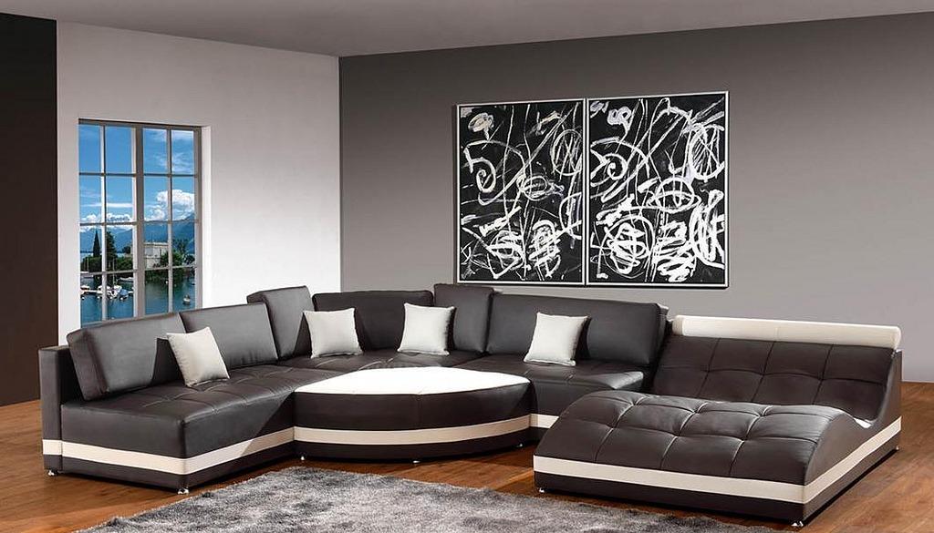 Juego de muebles para sala living lineal sl 011 u s 1 for Muebles de pared para living