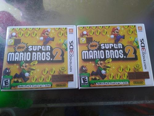juego de nintendo 3ds barato,new super mario bros 2,60mil cu