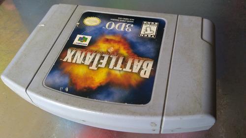juego de nintendo 64, battletank