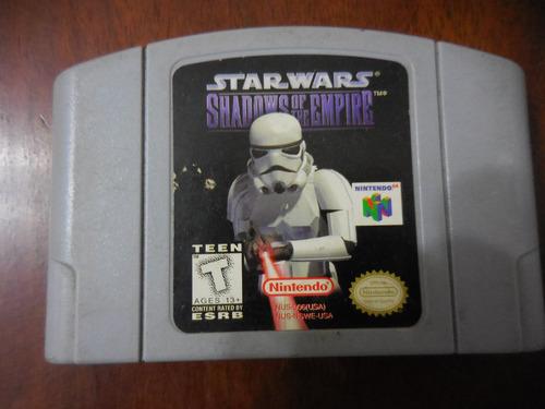 juego de nintendo 64 star wars
