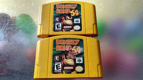 juego de nintendo 64,donkey kong 64.