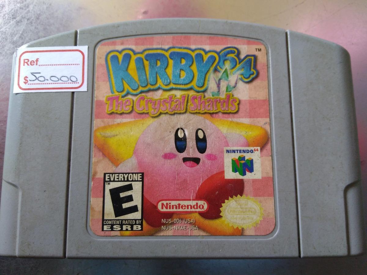 Juego De Nintendo 64 Kirby 64 60 000 En Mercado Libre