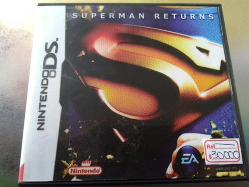 juego de nintendo ds barato,superman returns .