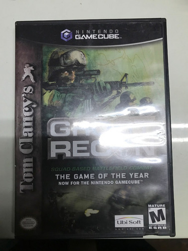 juego de nintendo gamecube: ghost recon