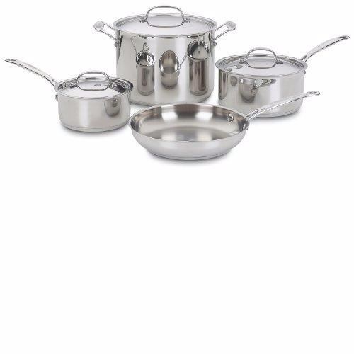 juego de ollas cuisinart 7 piezas
