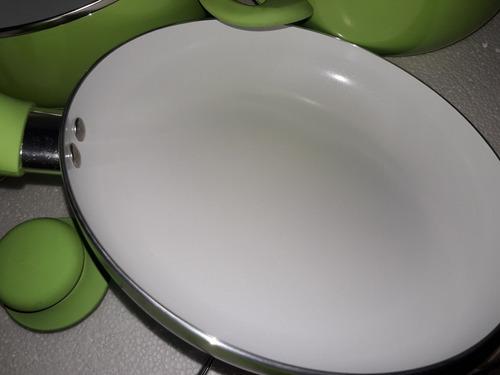 juego de ollas de ceramica antiadherente 7 piezas nuevo