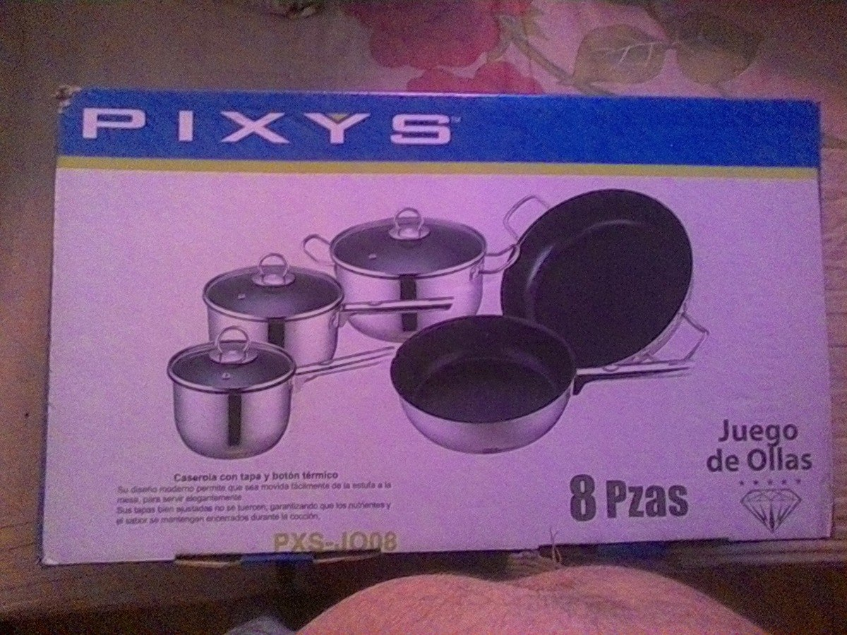Juego De Ollas Pixys Bs 55 000 00 En Mercado Libre # Juegos De Muebles Pixys