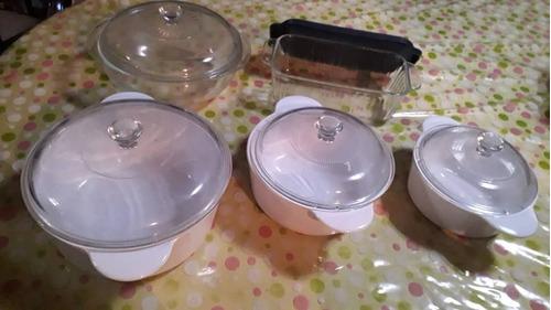 juego de ollas refractarias marca pyrex
