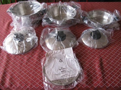 juego de ollas rena ware 7 piezas