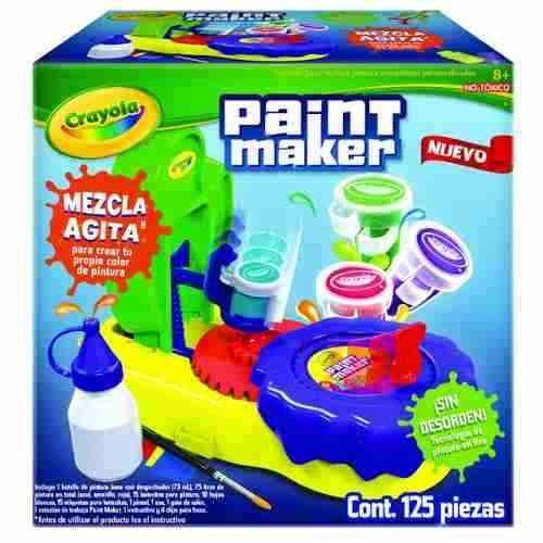 Juego De Paint Maker De Crayola - $ 1,150.00 en Mercado Libre