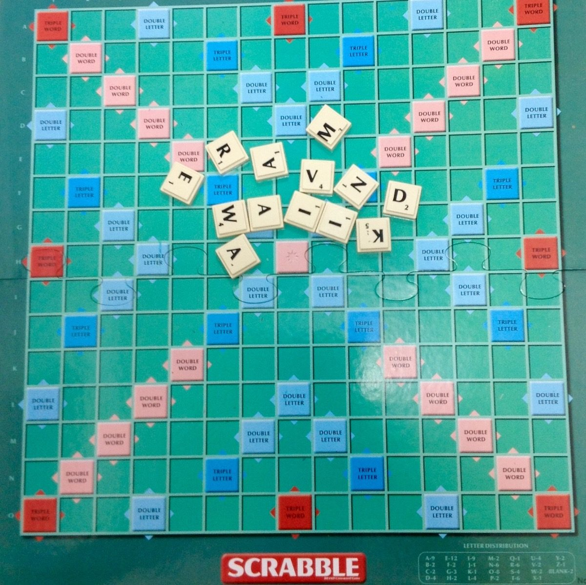 Juego De Palabras Scrabble Arme Y Cruce Las Palabra 8 Años