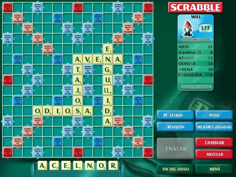 Juego De Palabras Scrabble Para Computadora 10000 En Mercado Libre