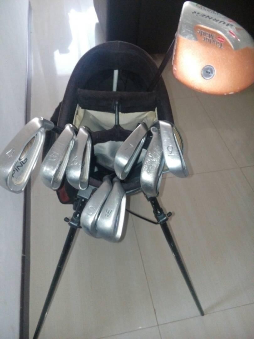 aa91290cbedc7 Juego De Palos De Golf Marca Ping De Grafito Con Bolso - Bs. 100.000 ...