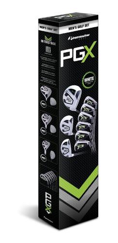 juego de palos golf pinemeadow driver, 3 wood, hybrid, 5-pw