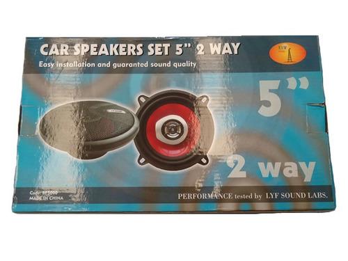 juego de parlantes 5  2 vias 120w