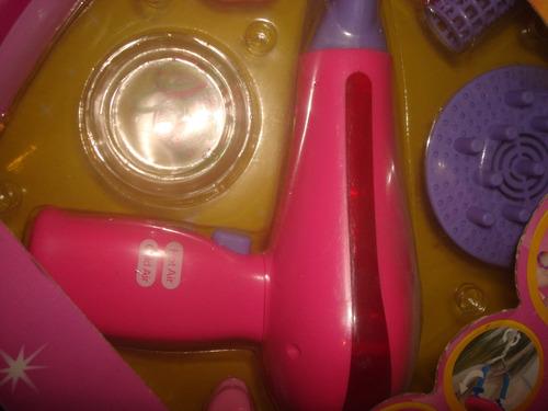 juego de peluquera secador y hace trenzas de verdad envios