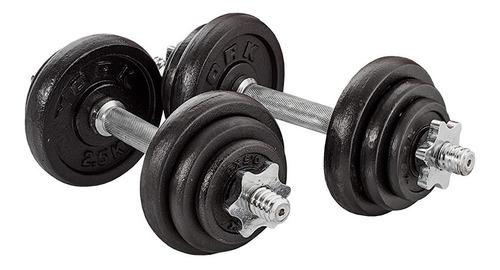 juego de pesas mancuernas de 20 kg mancuerna labrada estuche
