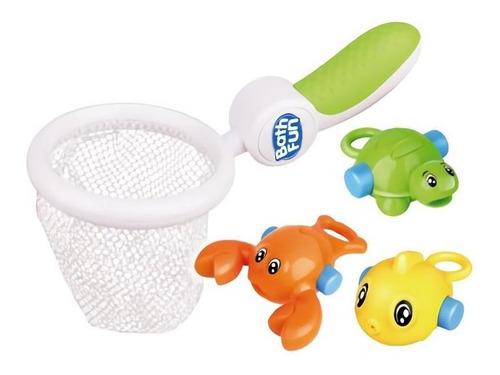 juego de pesca bebes para baño bañera caña con animalitos