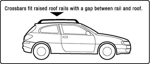 juego de  piezas de barra transversal de techo de alumi...