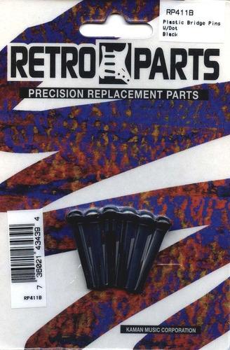 juego de pines para guitarra acústica retro parts  clrp411b