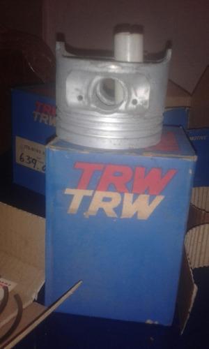 juego de pistones ford sierra originales trw + anillos a 040