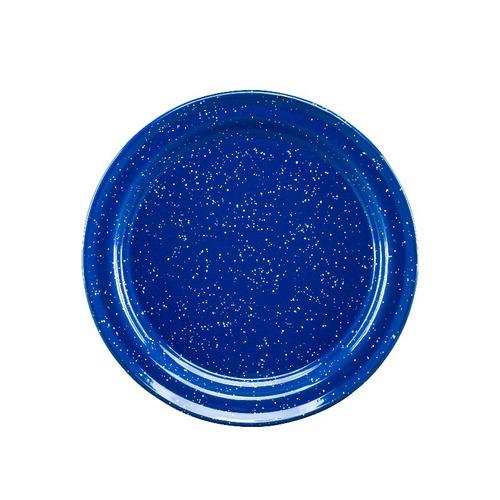 juego de plato principal de peltre, 6 piezas azul