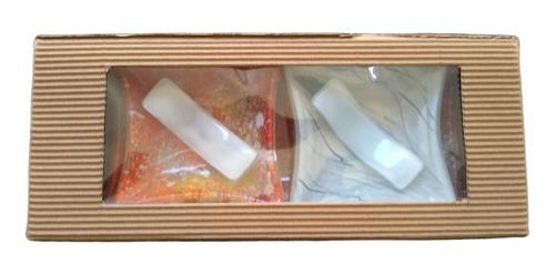 juego de platos de sushi vitrofusion