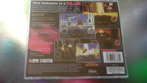 juego de playstation 1 original,auto destructor.