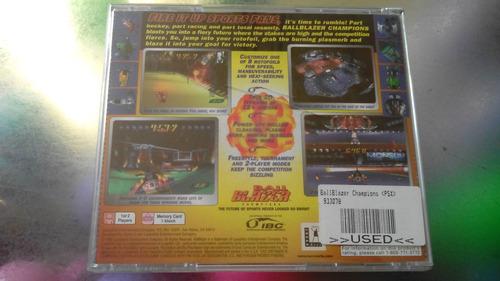 juego de playstation 1 original,ball blazer.