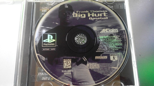 juego de playstation 1 original,big hurt.