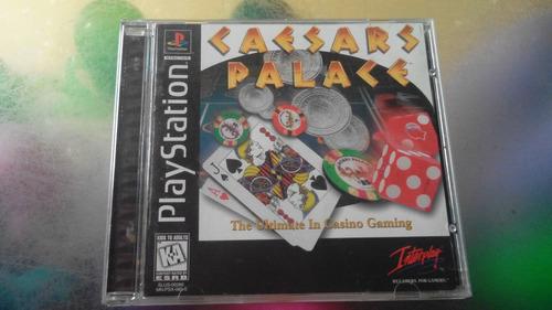 juego de playstation 1 original,caesars palace