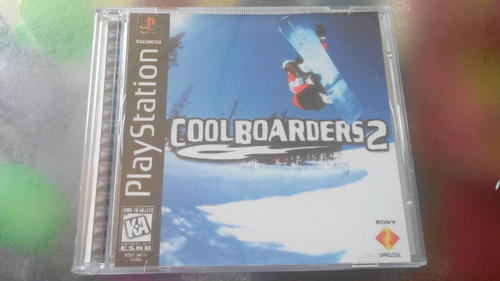 juego de playstation 1 original,cool boarders 2.