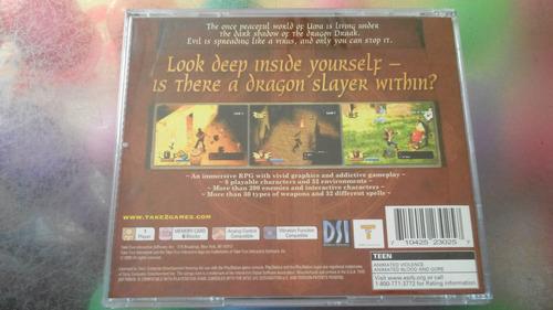 juego de playstation 1 original,darkstone.