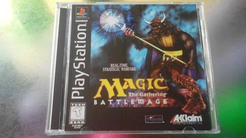 juego de playstation 1 original,magic.