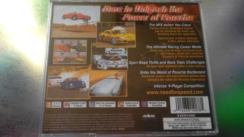 juego de playstation 1 original,need for speed porsche unle
