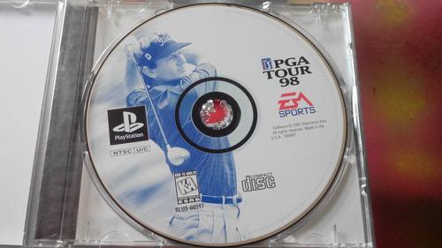 juego de playstation 1 original,pga tour 98.