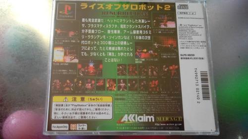 juego de playstation 1 original,resurrection rise 2