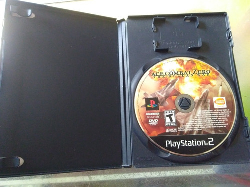 juego de playstation 2 original,ace combat zero the belkan w