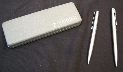 juego de pluma y lapicero parker