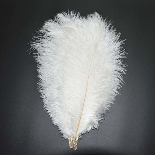 juego de , plumas de avestruz naturales de - pulg...