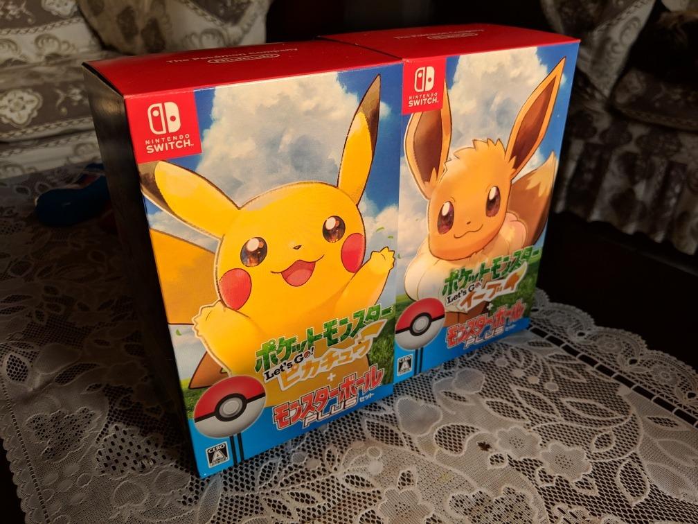 Juego De Pokemon Lets Go Nintendo Switch 780 C U S 780 00 En