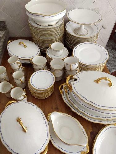 juego de porcelana limoges 100 piezas