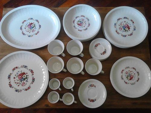 juego de porcelana pontesa