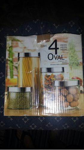 juego de potes de cocina 4 piezas