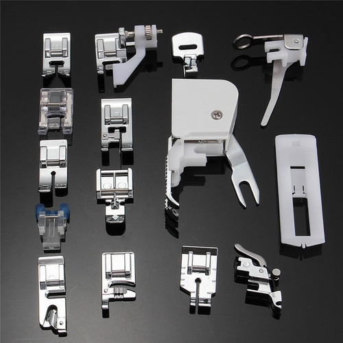 juego de prensatelas para máquina de coser, 15 piezas, para