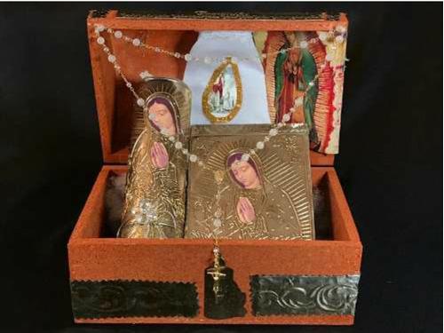 juego de primera comunión, kit incluye cirio rosario biblia