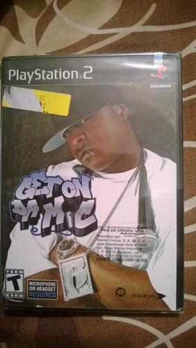 juego de ps2 get on da mic