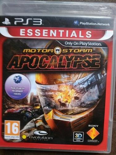 juego de ps3 motor storm apocalypse