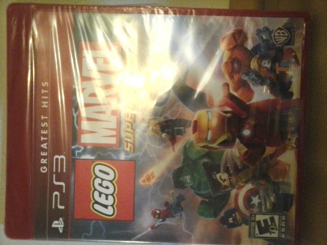 Juego De Ps3 Original Nuevo Lego Marvel Super Heroes Bs 250 00 En